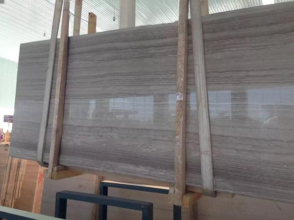 Đá marble xám vân gỗ cao cấp