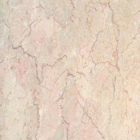 Đá marble kem chỉ đỏ