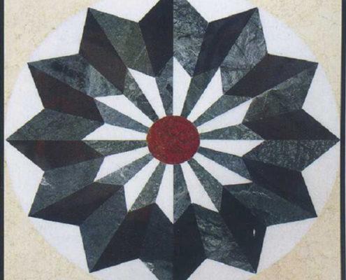 Hoa văn đá hoa cương tự nhiên
