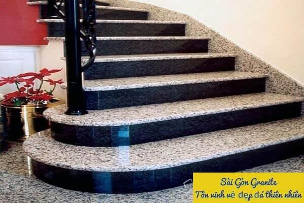 Đá granite giá rẻ ốp cầu thang