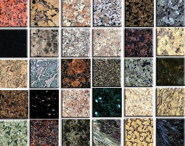 Kết quả hình ảnh cho đá granite tự nhiên và nhuộm