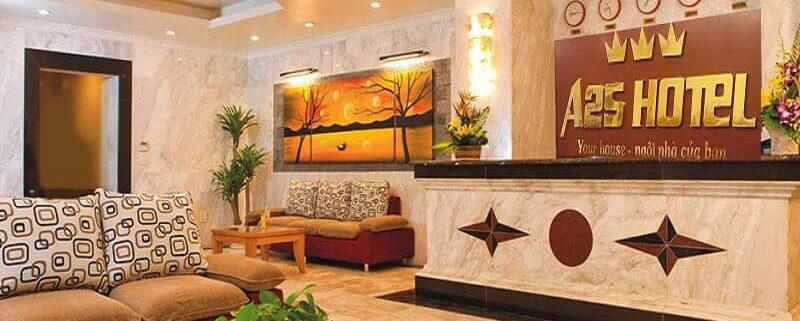 Đá hoa cương ốp lát sàn nhà khách sạn