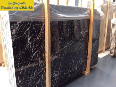 Đá marble đen ngọc trai