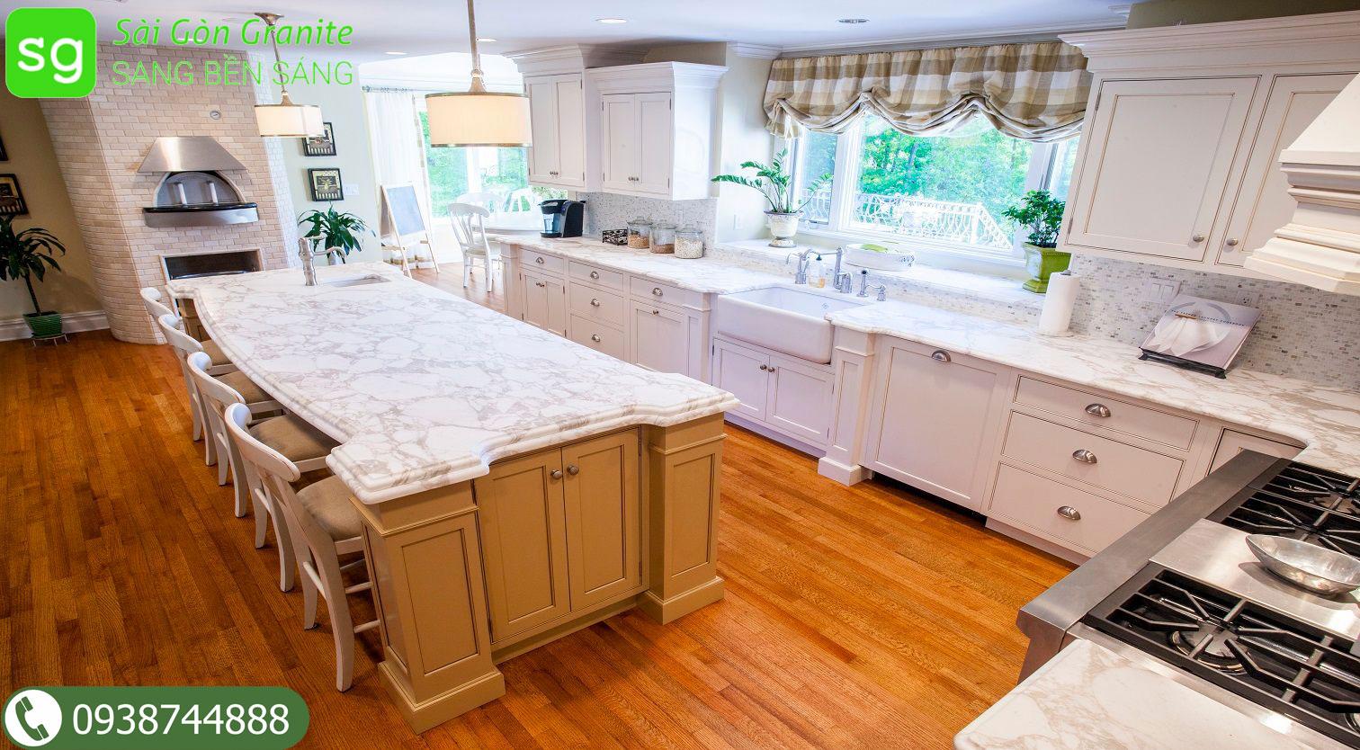 Đá granite mặt bếp
