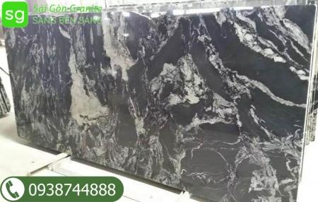 đá tự nhiên đen vân trắng