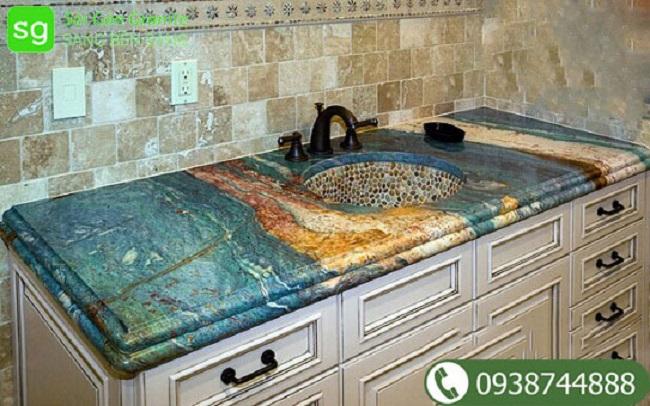 Mặt bàn bếp đá granite