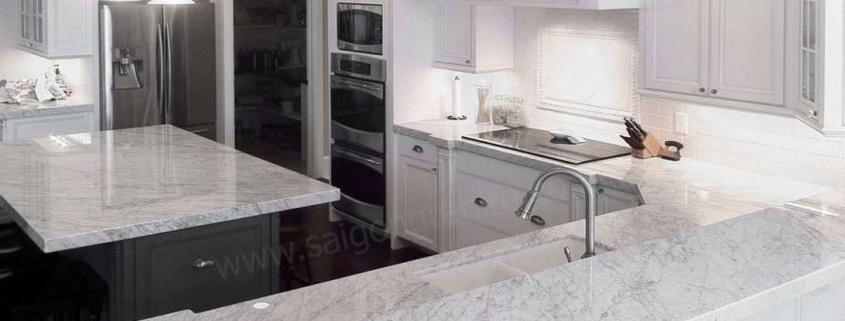 Mặt đá bàn bếp marble